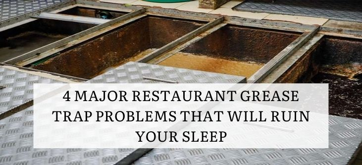 What will happen if you don't clean grease trap regularly
